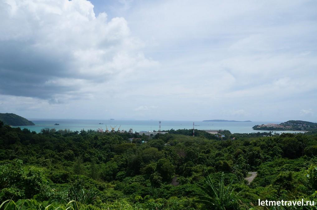 Вид на бухту Макхам(Makham Bay)