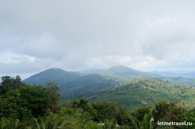 Горы на Пхукете