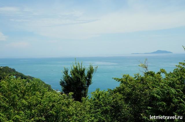 Вид на Андаманское море с маяка
