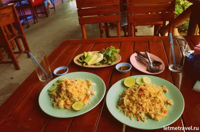 Lunch at Thai caffe