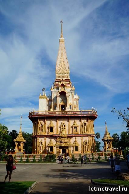 Пагода. Wat Chalong