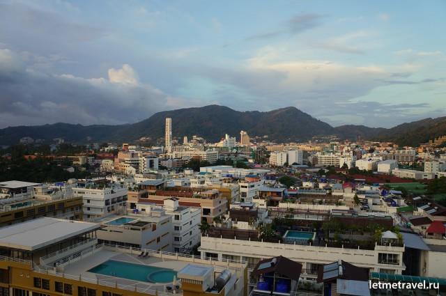 Вид на Патонг