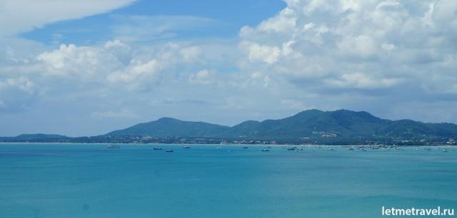 Вид с обзорной площадки Кхао Кхад