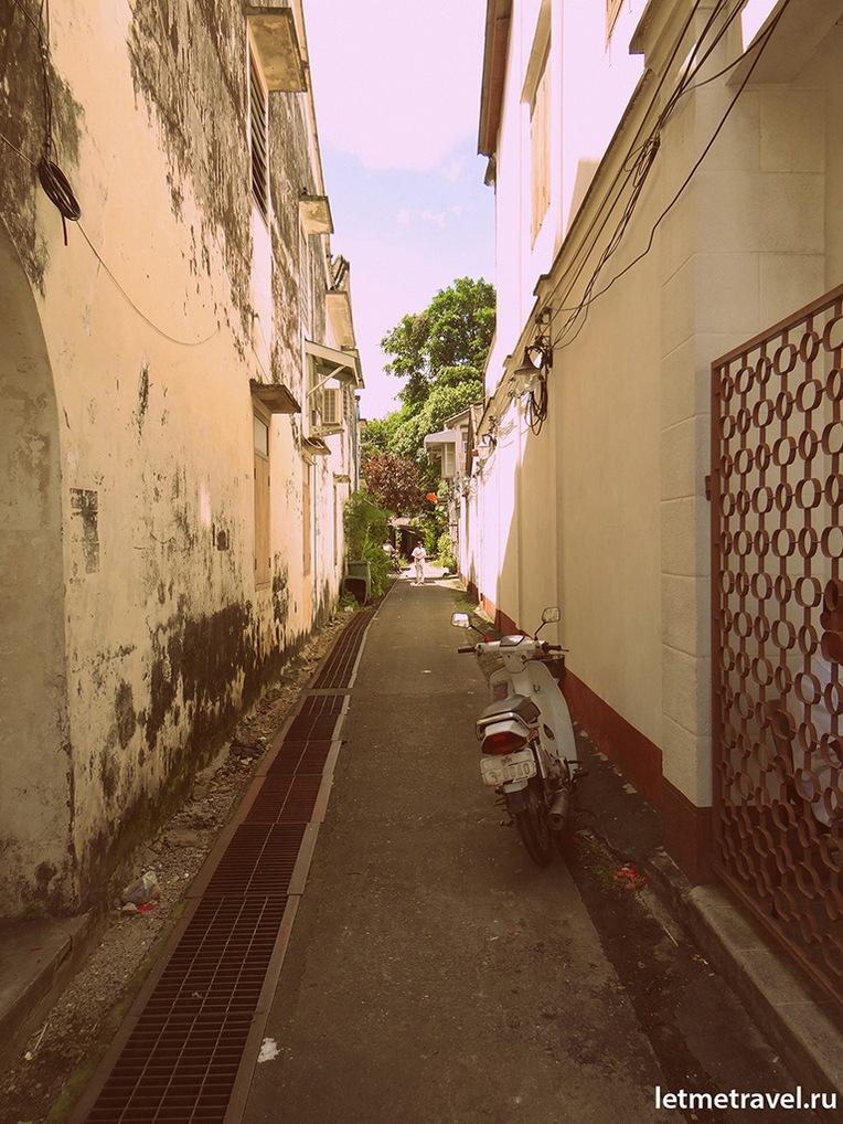 Улочка на Пхукет Тауне