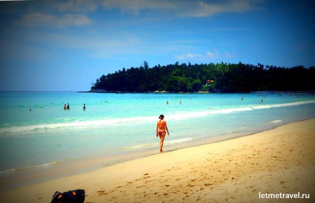 Пляж Ката,пляж Като