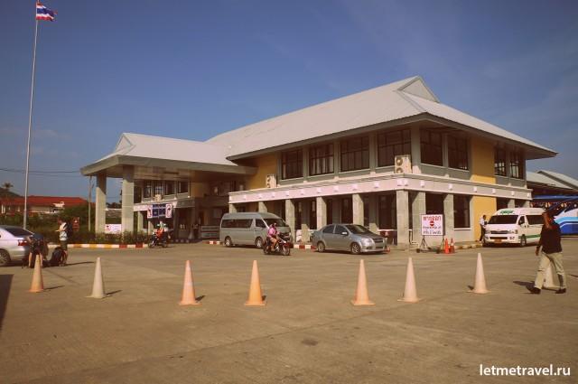 Здание автобусного терминала