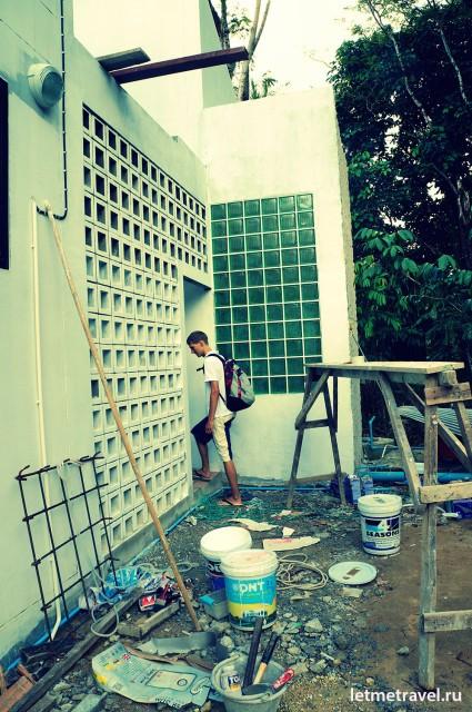 Дом который ремонтируется
