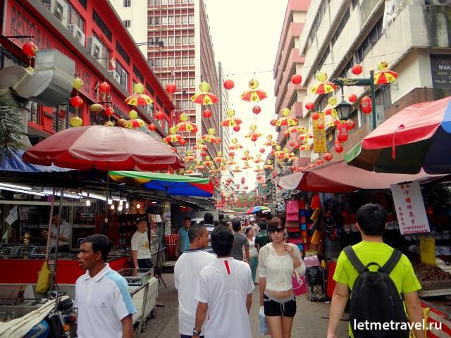 Рынок в китайском квартале