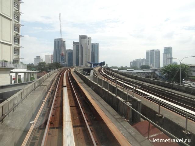 Куала Лумпур метро фото