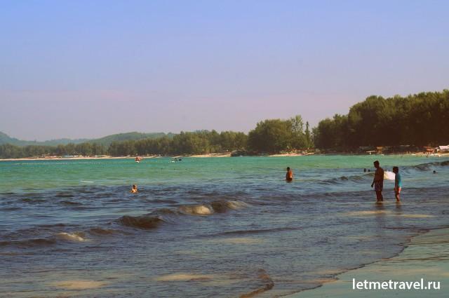 Пляж Банг Тао фото