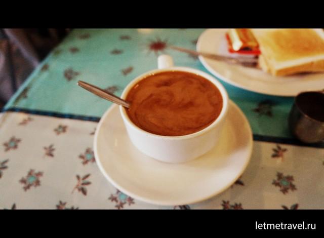 Утренний кофе в Хат Яй