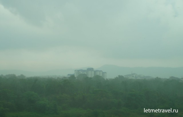 По дороге в Куала Лумпур