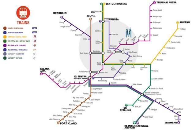 Куала Лумпур метро