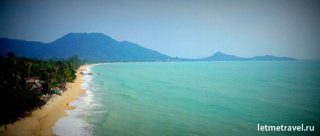 пляж Ламай самуи фото