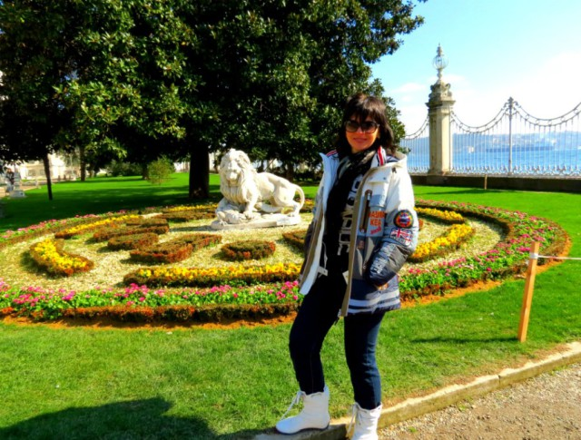 Во дворце Долмабахче, Стамбул