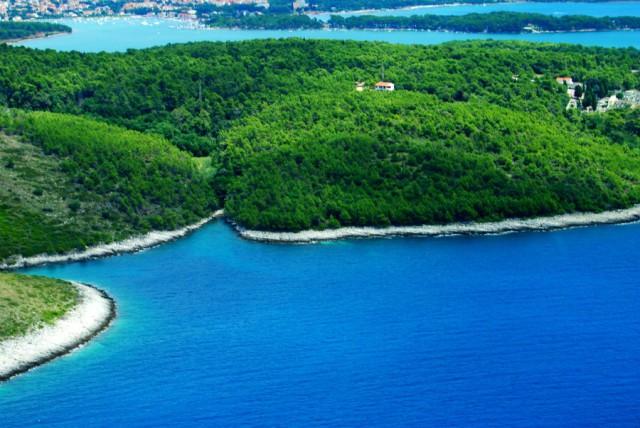 Полет на авиа-такси над островами Хорватии.